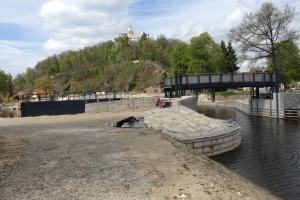 Hluboká na Vltavou duplexní protikorozní ochrana