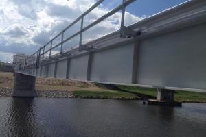 tryskání mostu