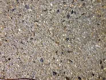 Otryskaný povrch betonu